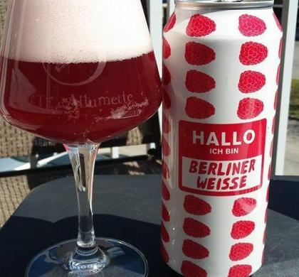 Halo Ich Bin Berliner Weisse Raspberry de Mikkeller (Danemark)