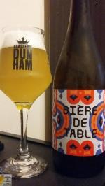 Bière de Table de Dunham
