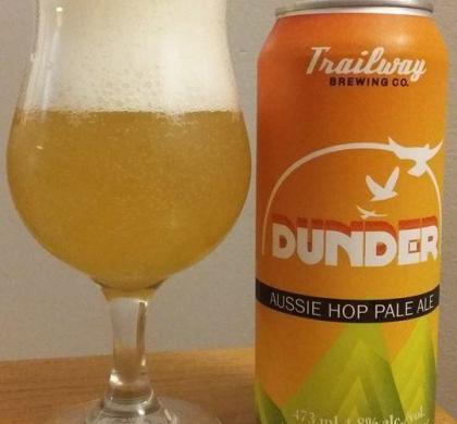 Dunder Pale Ale de Trailway (Nouveau-Brunswick)