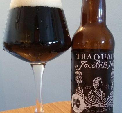 Jacobite Ale de Traquair House (Écosse)