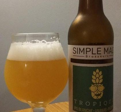 Simple Malt Tropique de Brasseurs Illimités