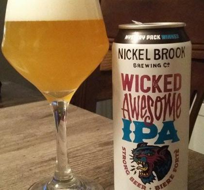 Wicked Awesome IPA de Nickel Brook (Ontario)