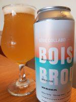 New Belgian IPA de la Brasserie du Bois Blanc et du Brouhaha