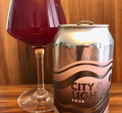 City Lights Boysenberry & Lactose de Foam Brewers