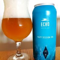 Hazy Session IPA de Echo Session Ales