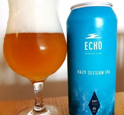 Hazy Session IPA de Echo Session Ales