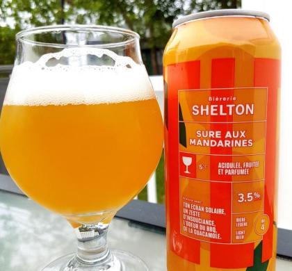 Sure aux mandarines de Shelton
