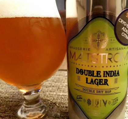 Double India Pale Lager de Maltstrom