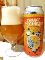Orange Mécanique de la Microbrasserie Nouvelle-France
