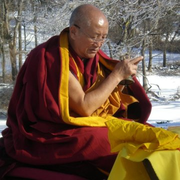 Gyumed Khensur Rinpoche Lobsang Jampa