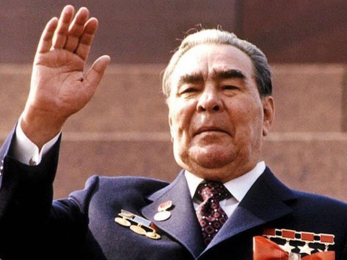 Leonid Brézhnev, líder de la URSS desde 1964 a 1982