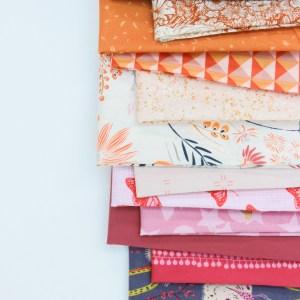 Modern Fabric Bundle- Sun Dried Rose