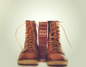 Forgiveness - Bible and boots