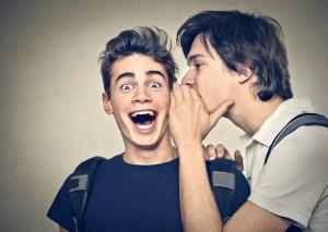friends confide secrets