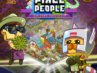 Pixel People 'Hipster' Update is now Live!