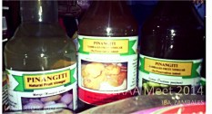 'Pinangiti' (loosely: made you smile) vinegar made from fruits locally found in Zambales.