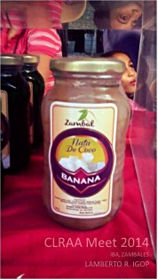 This is the first time I have seen a banana-flavored Nata de Coco.