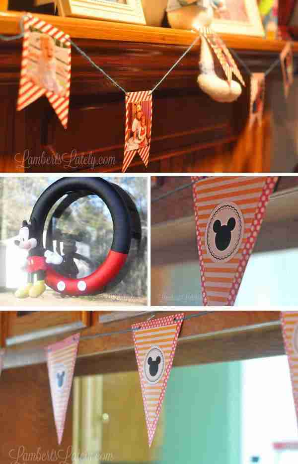 Mickey Mouse Clubhouse Party Decorations