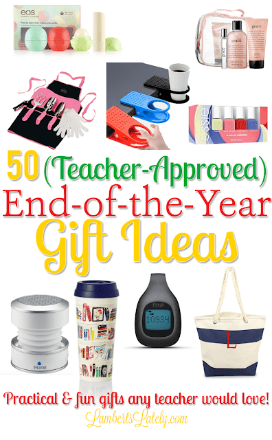 These ideas for a teacher gift include presents from preschool to kindergarten and even high school. Find unique and cheap gift ideas that teachers can actually use...includes some printables to pair with the gifts and DIY projects! Great for Teacher Appreciation Week too.