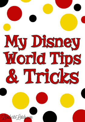 My Disney World Tips & Tricks