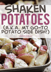 Shaken Potatoes Recipe