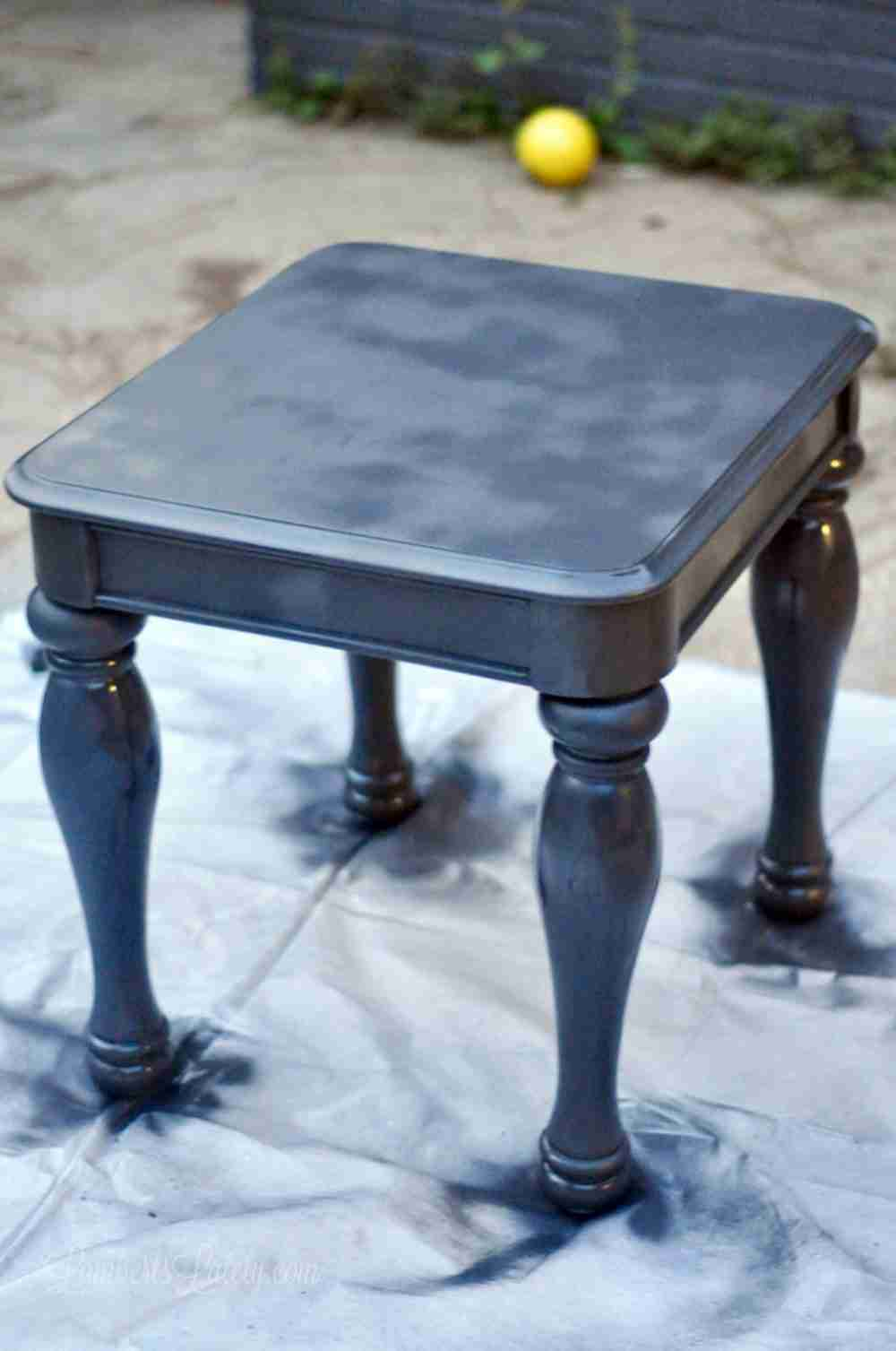 The Easy Way To Chalk Paint Laminate Furniture Using Only
