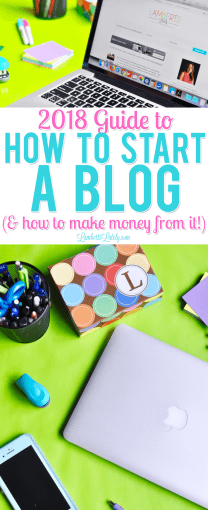 Check out this easy, step by step tutorial on how to start a WordPress blog in 2018, including how to make money from your blog and favorite plugins/resources for beginners.