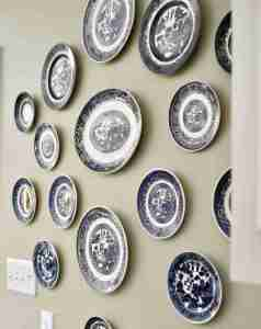How to Hang Plates in a Gallery Wall
