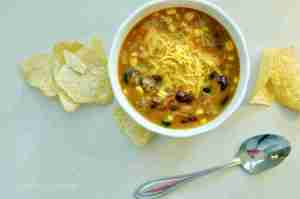 Pressure Cooker Taco Soup (Part 10 – Best of Freezer Meal Boot Camps)
