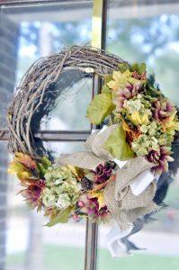 An Easy DIY Fall Wreath