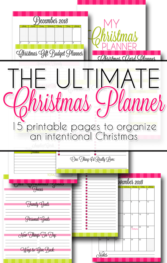 image regarding Christmas Planner Printable known as The Final Xmas Planner Lamberts Recently