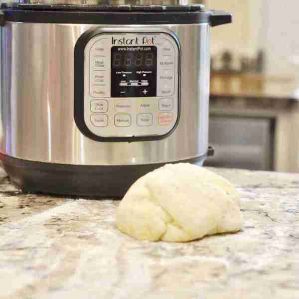 Pizza Dough in an Instant Pot