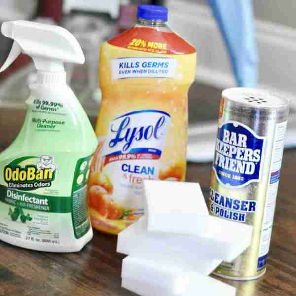 My Go-To List of Household Cleaning Supplies