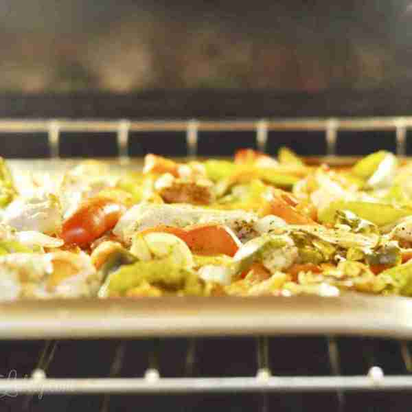 Sheet Pan Chicken Fajitas (Part 2 – Sheet Pan Dinners Freezer Meal Boot Camp)