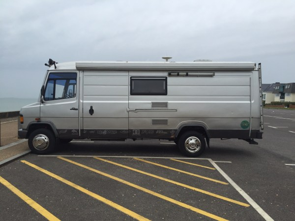 1990 Mercedes Vario 814d Overland – Mountainbiking in the ...