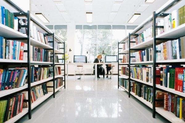 Фото дня: Как выглядит современная библиотека — The Village