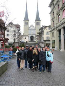 In front of the HofKirche