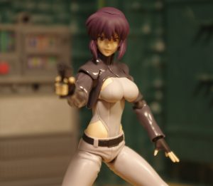 Ghose in the Shell Figma Motoko Kusanagi