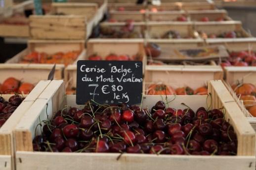 Arles, France Open Market