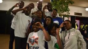 ALTERNATIVE OPPOSITION: The presence of ACDP members was felt. Photo: Lameez Omarjee
