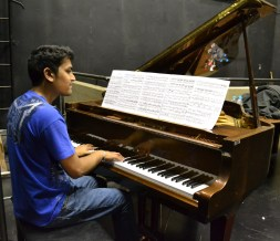 BEETHOVEN'S PRODIGY: PhD candidate Ritesh Ajoodha has been playing the piano all his life and his passion for music influenced his research to compose music using Darwin's theory of evolution and natural selection. Photo: Lameez Omarjee