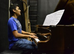 DARWINIAN MUSIC: PhD candidate Ritesh Ajoodha has composed music artifically using computer science showing how Darwin's theory of evolution and natural selection can produce aesthetically sounding music for up to 500 generations. Photo: Lameez Omarjee