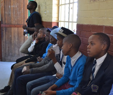 CAREER DAY: High school students got to learn about the different options available for their careers and they received advice on subject choices by a Career Day hosted by Wits University masters students. Photo: Lameez Omarjee