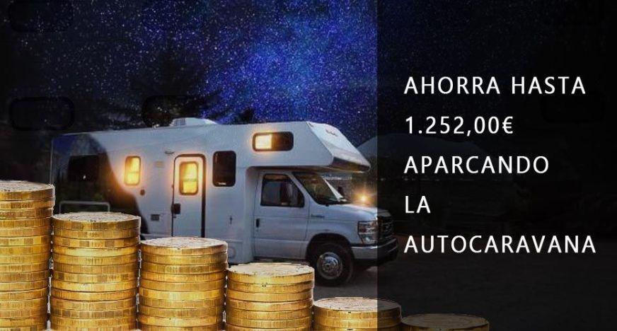 Ahorra hasta 1252 eiros aparcando la autocaravana