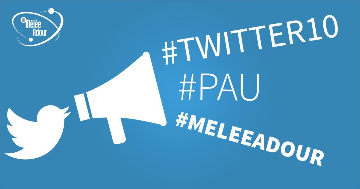 La Mêlée Adour fête les 10 ans de Twitter à Pau !