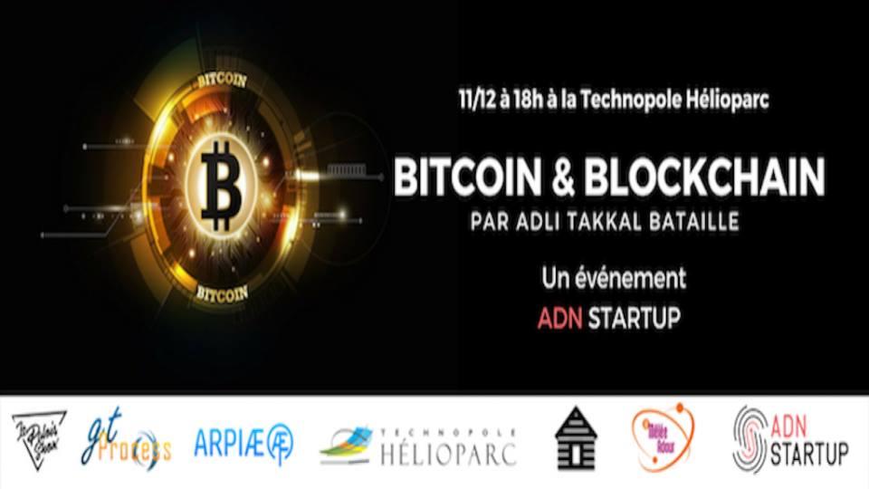 Bitcoin et blockchain – 11 décembre 2017 à Pau