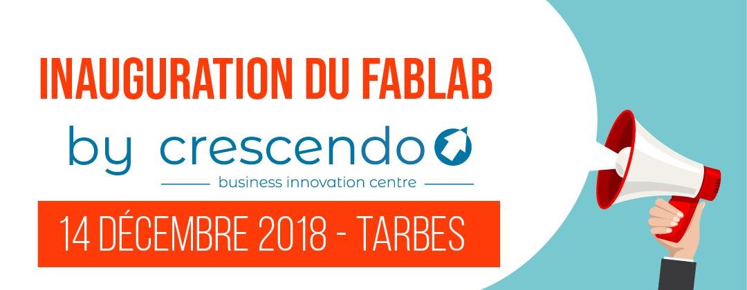 Inauguration du FabLab du BIC Crescendo