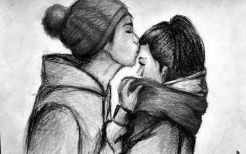 ragazzi si baciano