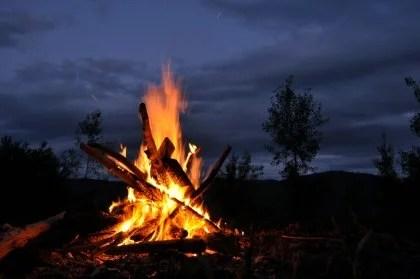 fuego enfado