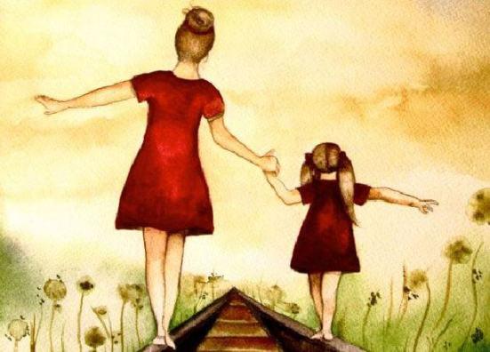 Resultado de imagen de imagenes de una madre y una hija